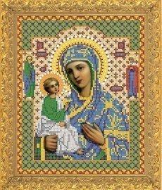 """Рисунок на ткани для вышивания бисером 422М """"Прсв. Богородица Иерусалимская"""""""
