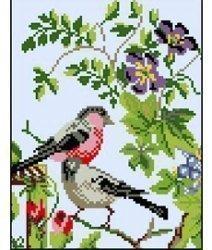 """Набор для вышивания Ф04 """"Птички"""""""