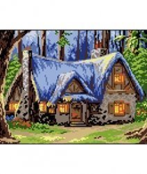 """Набор для вышивания П05 """"Домик в лесу"""""""