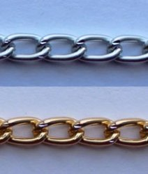 Цепь металл 3 мм. A1902 (40м.)