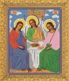 """Рисунок на ткани для вышивания бисером Бис 331 """"Святая Троица"""""""