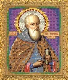 """Рисунок на ткани для вышивания бисером Бис 769 """"Святой Илья"""""""