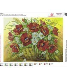 Рисунок на ткани для вышивания бисером ШвейТорг В627