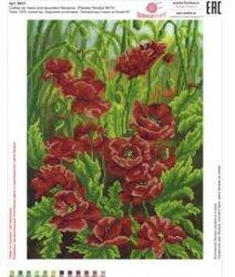 Рисунок на ткани для вышивания бисером ШвейТорг В631