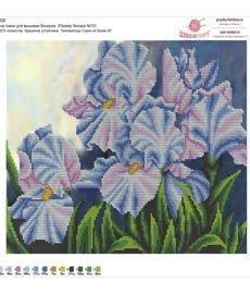 Рисунок на ткани для вышивания бисером ШвейТорг В632