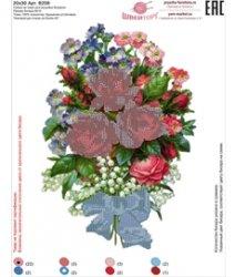 Рисунок на ткани для вышивания бисером ШвейТорг В208