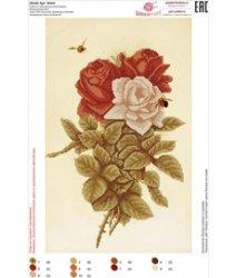 Рисунок на ткани для вышивания бисером ШвейТорг В444