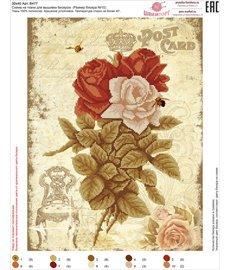 Рисунок на ткани для вышивания бисером ШвейТорг В477