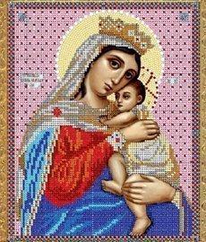 """Рисунок на ткани для вышивания бисером Бис 321 """"Прсв.Богородица Отчаянных единая надежда"""""""