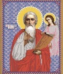 """Рисунок на ткани для вышивания бисером Бис 782 """"Св. Матфей"""""""