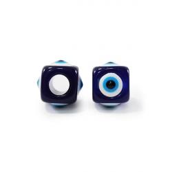 Бусины-Глазки от сглаза 12 мм, квадрат