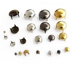 Заклёпки декоративные (круглые) 7,5 мм 1/1000 шт
