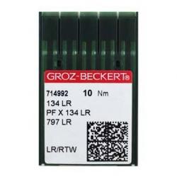 Иглы GROZE-BECKERT 134LR для промышленных швейных машин (кожа)