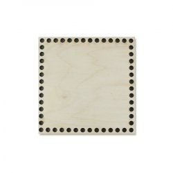Донышко квадратное №1002 15х15 см