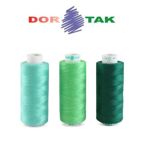 Нитка швейная DOR TAK (Дор так) 40S/2 номера цветов: 401-500