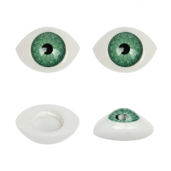 Глазки для кукол №12 23х16 мм 1/100 шт