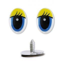 Глазки винтовые №418 20х15 мм 1/100 шт