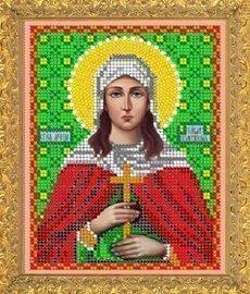"""Рисунок на ткани для вышивания бисером 696М """"Св. Павла"""""""