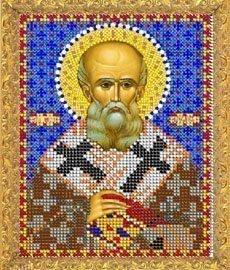"""Рисунок на ткани для вышивания бисером 764М """"Святой Григорий"""""""