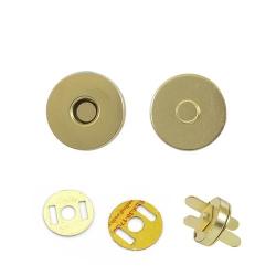 Кнопка магнитная малая №14, золото 1/200 шт