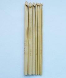 Набор крючков бамбук 7шт.(№2-№5)