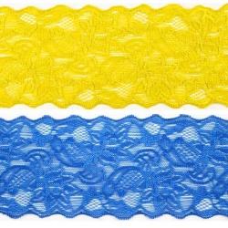 Кружево стрейч Т550 8,5 см 1/25 ярд