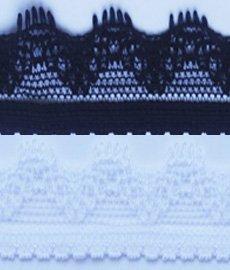Кружево стрейч Т101 1,5 см 1/25 ярд