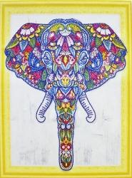 Алмазная мозаика 015 LP 40х50 (на подрамнике)