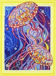 Алмазная мозаика 016 LP 40х50 (на подрамнике)