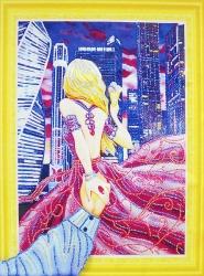 Алмазная мозаика 020 LP 40х50 (на подрамнике)