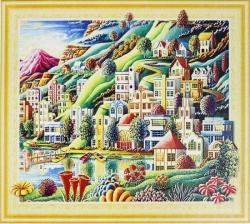 Алмазная мозаика 035 LP 40х50 (на подрамнике)
