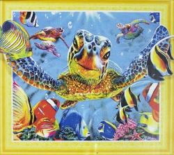 Алмазная мозаика 047 LP 40х50 (на подрамнике)