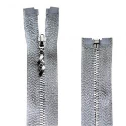 Молния металл Т.3 разъемная 70 см, люрекс 1/10 шт
