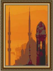 Набор для вышивания бисером К-069 «Мечеть»