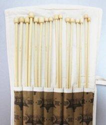 Набор спиц бамбук.№3.0-№6.5