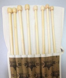 Набор спиц бамбук.№7.0-№12