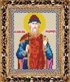 Набор для вышивания бисером ВБ-126 Икона Св. Равноап. Князя Владимира