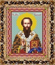 Набор для вышивания бисером ВБ-247 Икона Святого Мученика Василия