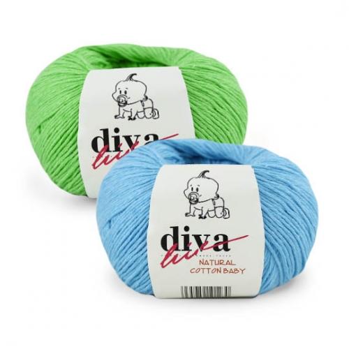 Пряжа Natural Cotton Baby (Diva)