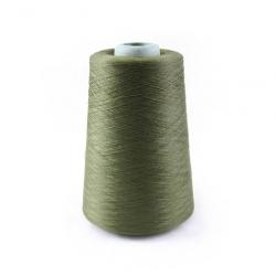 Нитка Швейная стрейч (объемка) 150D/1 зелёный