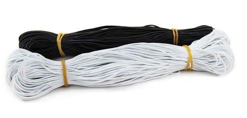 Резинка шляпная 1 мм 1/150 м