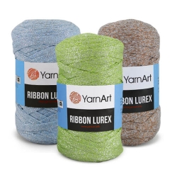 Пряжа Ribbon Lurex