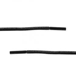 Шнурки обувные 80 см 1/50 пар (покрытие под кожу)