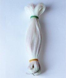 Шнур белый неон 1,5 мм 1/100 м