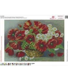 Рисунок на ткани для вышивания бисером ШвейТорг В623