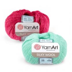 Пряжа Silky wool