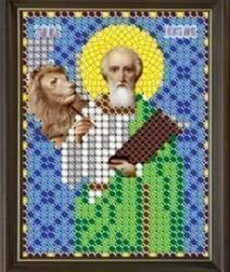 """Рисунок на ткани для вышивания бисером 799Л """"Святой Марк"""""""