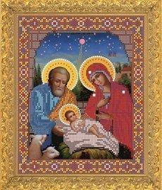 """Рисунок на ткани для вышивания бисером Бис 391 """"Рождество Христово"""""""