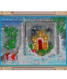 """Набор для вышивания бисером К-370 """"Рождественская ночь"""""""