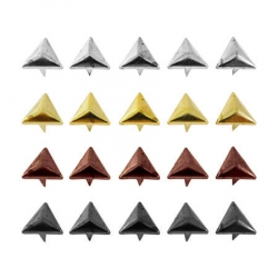 Заклёпки декоративные (треугольник) 1,2 см 1/250 шт